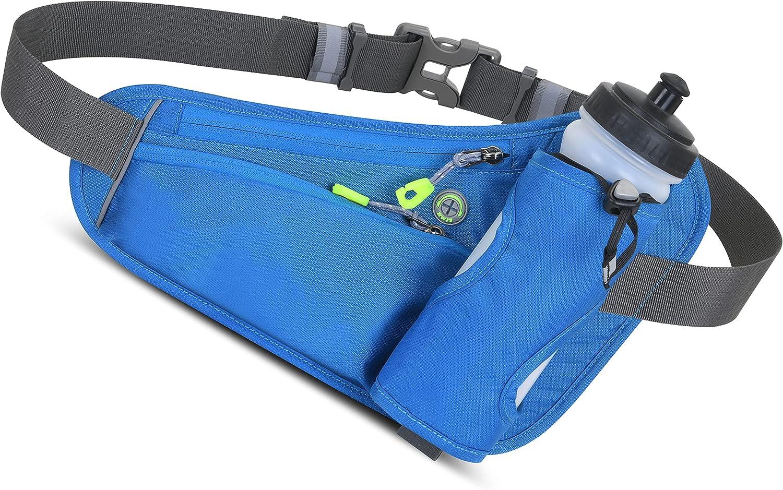 Sport Waist Alternative dealer Pack Cheap mail order sales Hydration Belt with running Bottle Water H