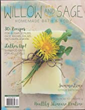 Willow and Sage Homemade Bath & Body Magazine May/June/July 2018