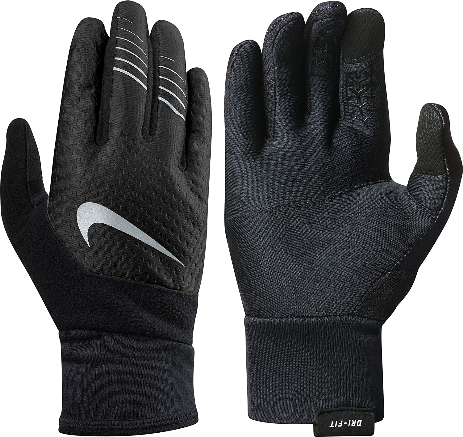 Ranking TOP11 Nike Women's Therma-FIT Elite Gloves Smal 2.0 Grey Black Max 50% OFF Cool