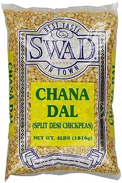 Swad Chana Dal (Split Desi Chickpeas), 4 Pound