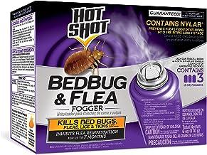 Sponsored Ad - Hot Shot 95911 AC1688 Bedbug & Flea Fogger, Pack of 3, Purple