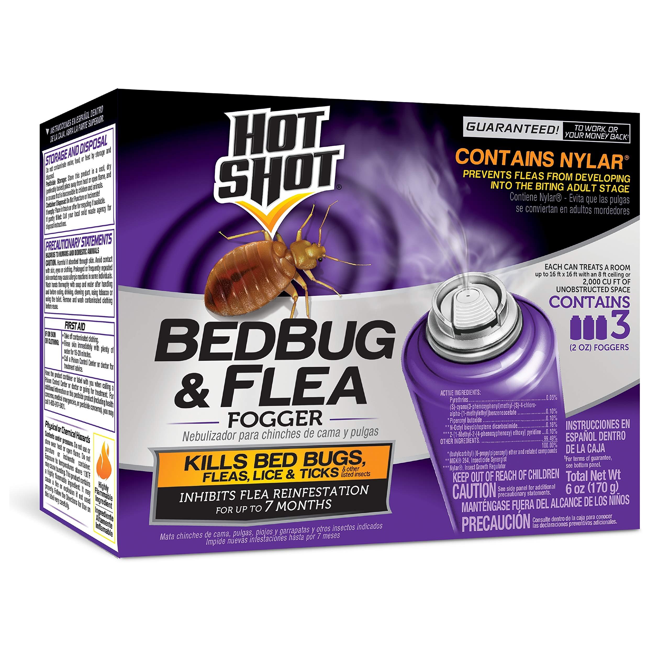 Hot Shot Bedbug Fogger 2 Ounce