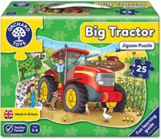 Orchard Toys - Big Tractor Shaped Floor Puzzle Jigsaws