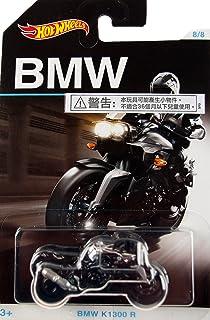HOT WHEELS EXCLUSIVE BMW SERIES BLACK/SILVER BMW K1300 R 8/8 by Hot Wheels