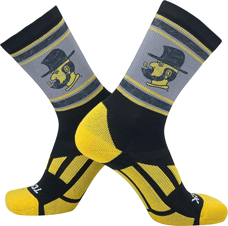 TCK Vintage Appalachian State Yosef Crew Socks (8-13)