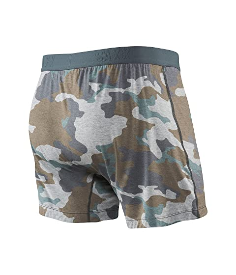 Supersize UNDERWEAR Agent Camo SAXX Free Grey Fly X7RT06FqF