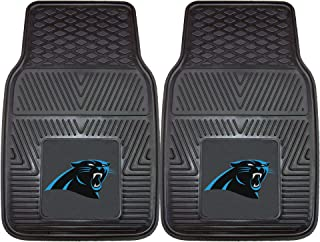 FANMATS NFL Carolina Panthers Vinyl Heavy Duty Car Mat