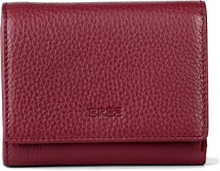 Bree Liv、財布、赤(赤れんが色)、13 cm x 11.5 cm x 2 cm(B x H x T)