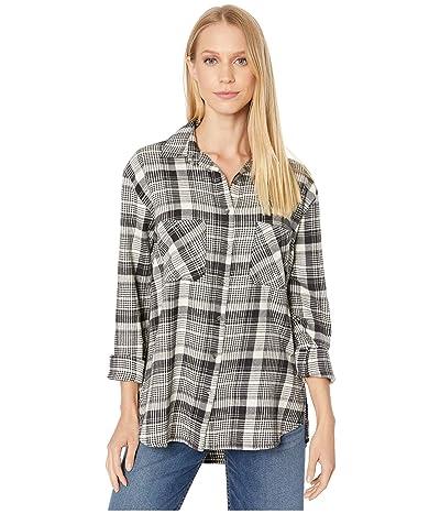 Billabong East Light Shirt (Black/White) Women