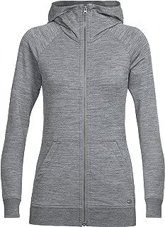 Icebreaker Womens Crush Long Sleeve Zip Hood