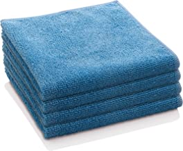 E-Cloth General Purpose Microfiber Cleaning Cloth, Alaskan Blue, 4 Count