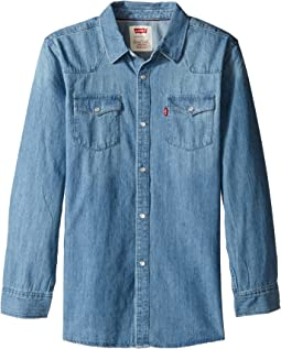 Levi's® Kids - Boys' Western Woven Shirt (Big Kids)