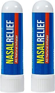 Aromatherapy Nasal Inhaler Two Pack by Basic Vigor