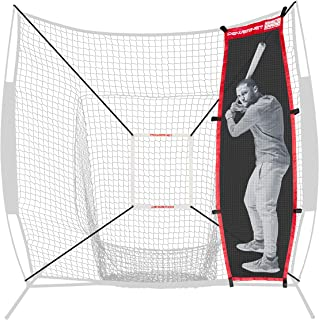 PowerNet Andrelton Simmons Stand-in Batter | Improve Pitching Accuracy for Baseball Softball | Safely Train Throwing Inside