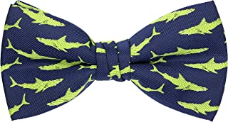 Papillon regolabile con motivo di dinosauro e squalo OCIA per uomo e ragazzo