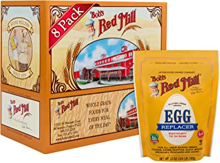 Bob's Red Mill Gluten Free Egg Replacer 12 ounce (8 Pack) Vegan Egg Substitute