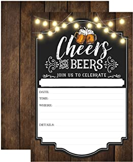 cheers to 50 years invitation