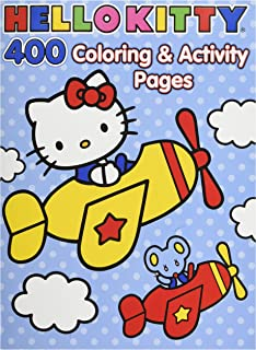 Hello Kitty Coloring Book Jumbo 400 Pages -- Featuring Classic Hello Kitty Characters!