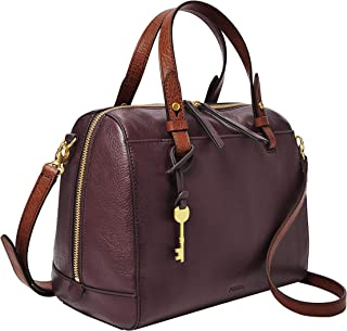 Fossil Rachel Leather 25.4 cms Purple Gym Shoulder Bag (ZB7792503)