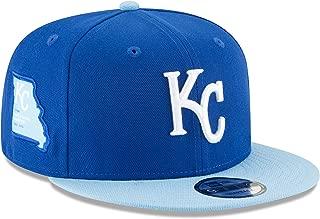 New Era Kansas City Royals Adjustable 9Fifty MLB Flat Bill Baseball Cap 950