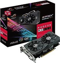 ASUS ROG Strix Radeon RX 560 14CU O4G EVO Gaming OC Edition GDDR5 DP HDMI DVI AMD Graphics Card (ROG-STRIX-RX560-O4G-EVO-G...