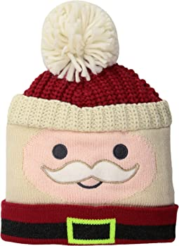KNK3519 Santa Beanie (Toddler/Little Kids)