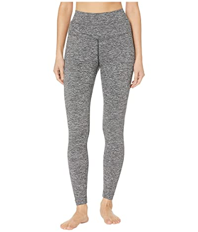 Hard Tail High-Rise Ankle Leggings (Heather Gray) Women