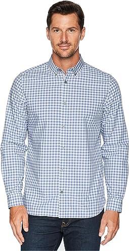 Gingham Plaid Sport Shirt