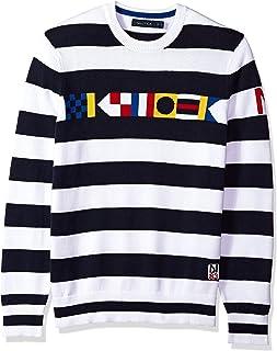 Long Sleeve Signature Print Sweater