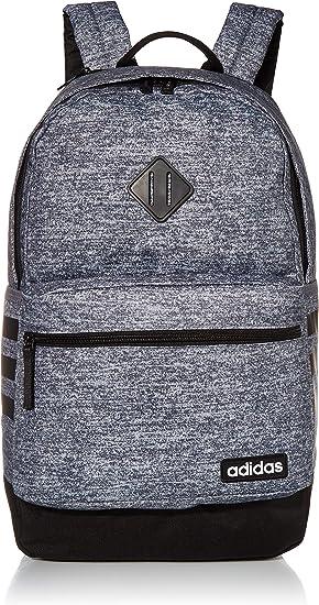 adidas Unisex Classic 3S III backpack, Jersey Onix/Black V3, One Size