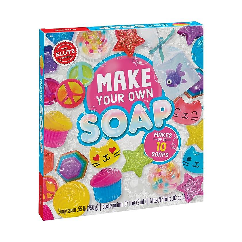 普通に鎮静剤創造Klutz K810645 Make Your Own Melt & Pour Soap Kit