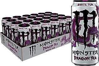Monster Energy Dragon Tea, White Tea + Dragonfruit, 15.5 oz (Pack of 24)