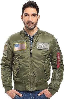 Alpha Industries - MA-1 Flex Slim Flight Jacket
