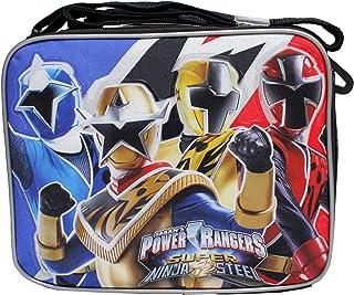2bcf5fae6f18 Power Rangers Super Ninja Steel Black Boys  Insulated School Lunch Bag