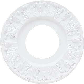 Westinghouse Lighting 7702700 Lighting Ceiling Medallions, Molded Plastic, 10 Inch Dia, 1 Pack, White Finish