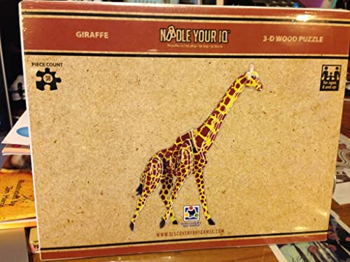Giraffe 3D Puzzle Colorojo by Discovery Bay Games by Discovery Bay Games