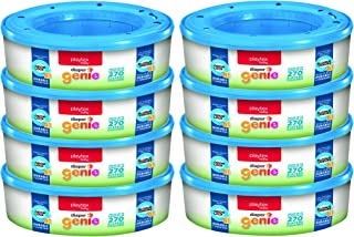 Playtex Diaper Genie Refill Gift Set - 2160 Diapers - Great for Baby Registry (Pack of 8)