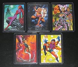 1992 Marvel Masterpieces Series I Lost Cards Insert Set of 5 Cards NM/M Joe Jusko Art