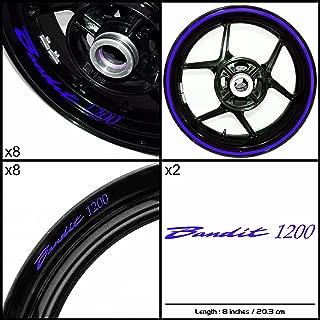 Stickman Vinyls Motorcycle Decal Gloss Blue Graphic Kit For Suzuki Bandit 1200