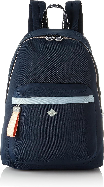 Oilily Damen Groovy Backpack Backpack Backpack Lvz Rucksackhandtasche, Blau (Dark Blau) 15x40x28 cm B079GZ9Q5G  Zu einem erschwinglichen Preis 82bbad