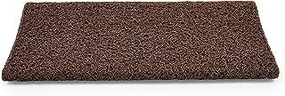 Camco 42963 Brown Premium Wrap Around RV Step Rug (PVC Material (17.5