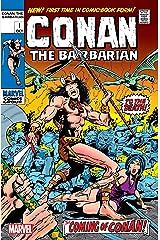 Conan The Barbarian (1970-1993) #1: Facsimile Edition Kindle Edition