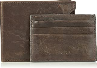 Fossil Men's Sliding 2 in 1 Wallet