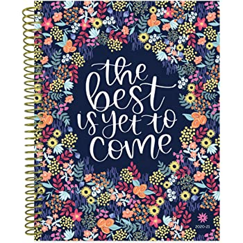 "bloom daily planners 2020-2021 (8.5"" x 11"") Academic Year Day Planner & Calendar (July 2020 - July 2021) - Weekly/Monthly Dated Agenda Organizer with Tabs - Best is Yet to Come"