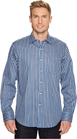 Long Sleeve Classic Fit Point Collar Shirt