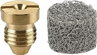 M MINGLE Foam Cannon Orifice Nozzle Tips and Foam Maker, Universal 1.1 mm Thread Nozzle and Mesh Filter for Snow Foam Lance, 3000 PSI