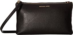 MICHAEL Michael Kors Adele Double-Zip Crossbody