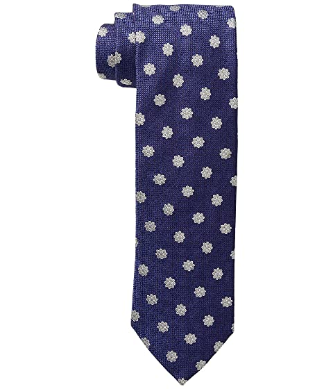 Eton Silk/Wool Medallion Tie