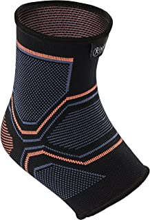 Kunto Fitness Ankle Brace Compression Support Sleeve Injury Recovery, Joint Pain, Swelling, Plantar Fasciitis & Achilles Tendon - Superior Arch Support Foot Socks Any Activity!