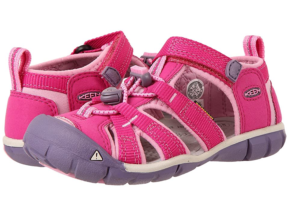 Keen Kids Seacamp II CNX (Toddler/Little Kid) (Very Berry/Lilac Chiffon) Girls Shoes